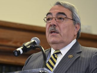 Rep. G.K. Butterfield (D-N.C.) hosted a panel discussion on expanding opportunities in STEM careers for young minorities, during the 2017 CBC ALC in Washington, D.C. This photo was taken during a 2015 panel discussion on the federal government sequester at Howard University.