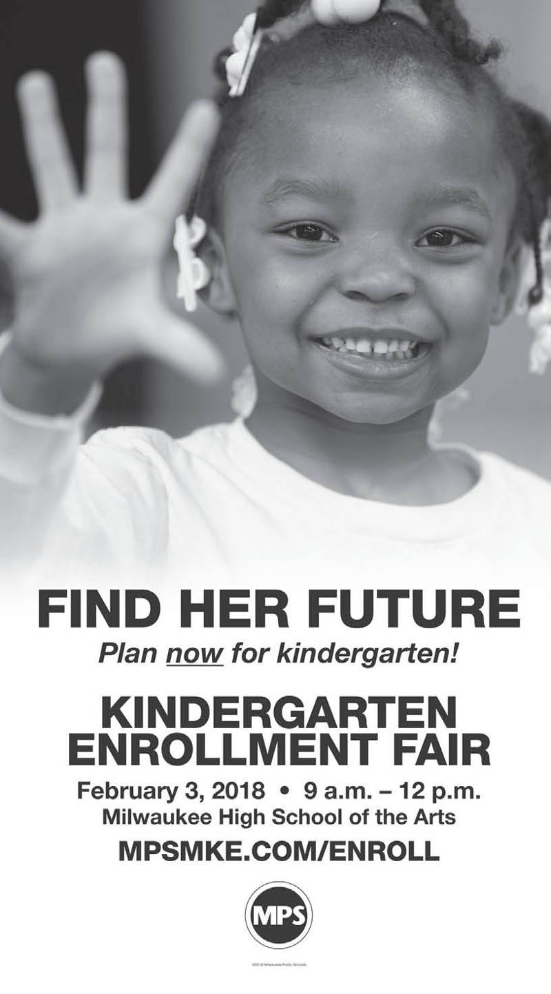 MPS Kindergarten Enrollment Fair on February 3rd