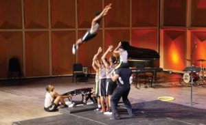 Milwaukee Flyers Tumbling Team. (Photo by Marcus Center of Performing Arts)