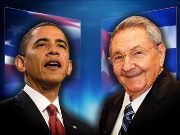President Barack Obama and Cuban President Raúl Castro (Courtesy of The Final Call)