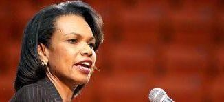 Former Secretary of State, Condoleezza Rice