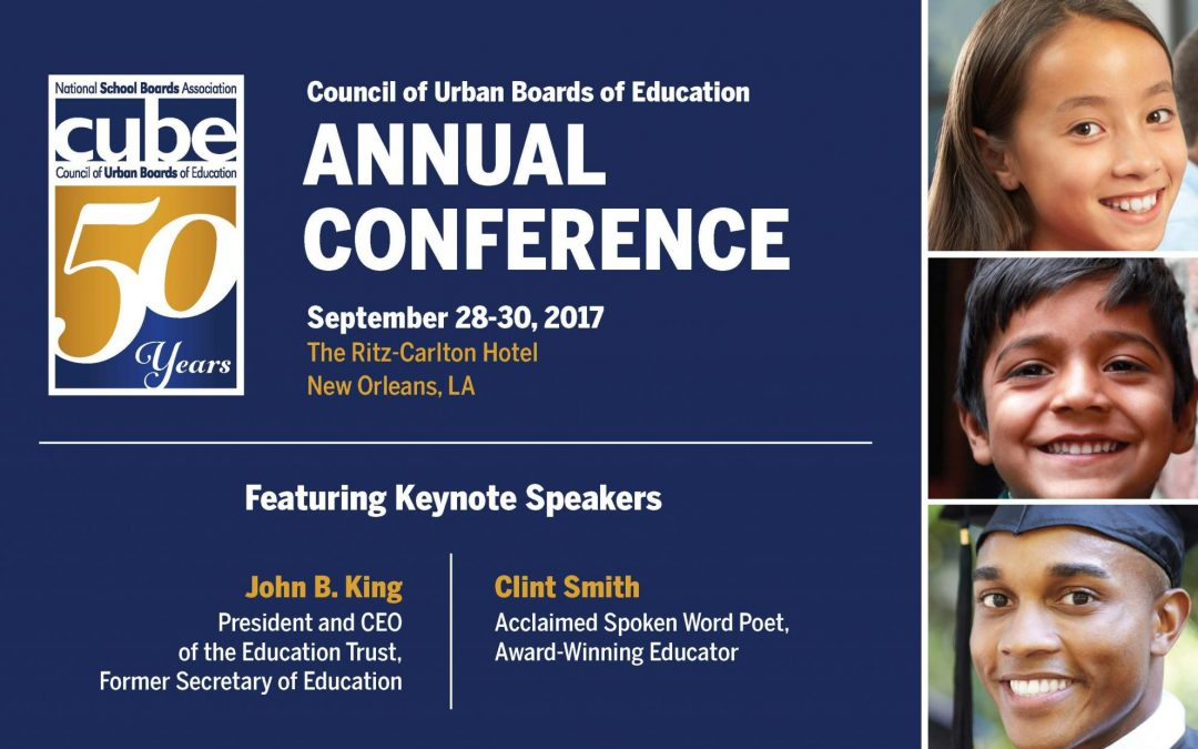 The 50th Annual Council of Urban Boards of Education Conference