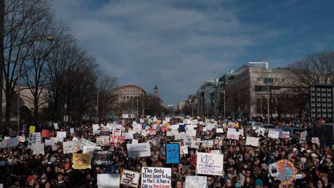 Young Voices Heard at 'March for Our Lives' Rally