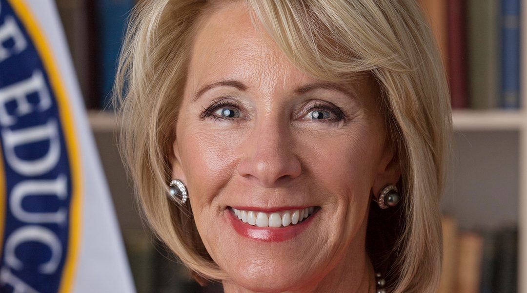 Federal Flash: The Education Question Betsy DeVos Can't Answer