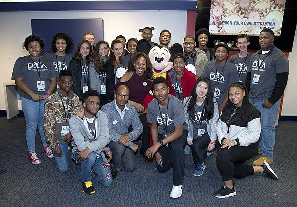 Students take a 'Deep Dive' at Disney Dreamers Academy