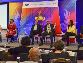 Panelists discuss the role of the Black Press in education during a breakfast session hosted by the NNPA ESSA Public Awareness Campaign, during Black Press Week in Washington, D.C. (Freddie Allen/AMG/NNPA)