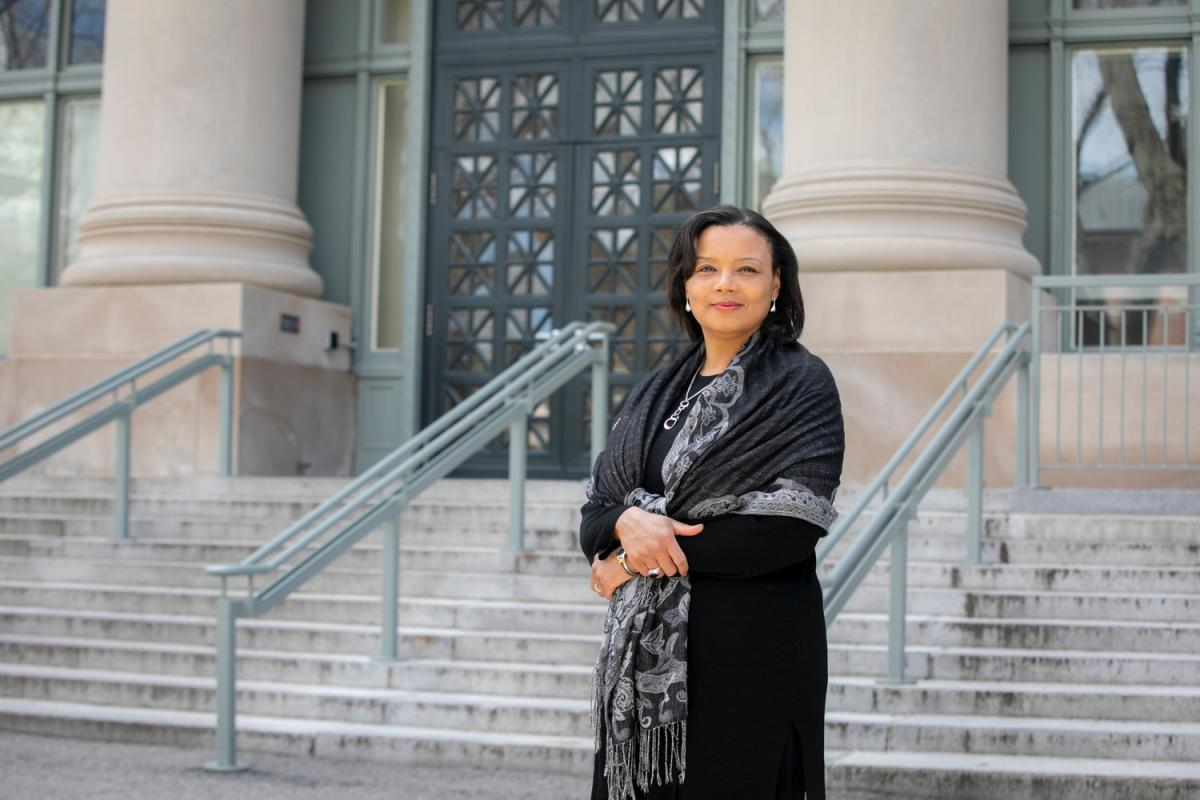 Tomiko Brown-Nagin is the Dean of Harvard's Radcliffe Institute for Advanced Study. (Harvard Public Affairs and Communications Photo)