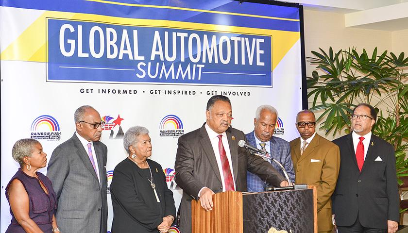 "Rev. Jesse Jackson, Sr. Calls for ""Full-Scale"" Boycott of BMW"
