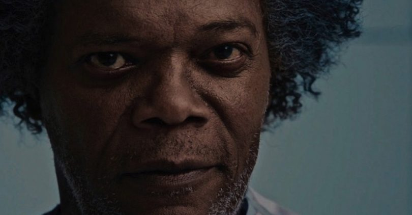 Samuel L Jackson in Glass. Photo courtesy Universal Pictures.