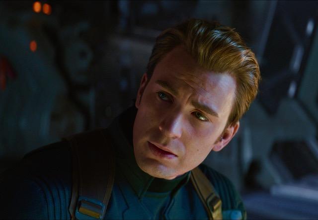 Marvel Studios' AVENGERS: ENDGAME..Captain America/Steve Rogers (Chris Evans)..Photo: Film Frame..©Marvel Studios 2019