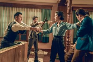 Xing Yu, Jin Zhang, Michelle Yeoh and Kevin Cheng in Master Z The Ip Man Legacy