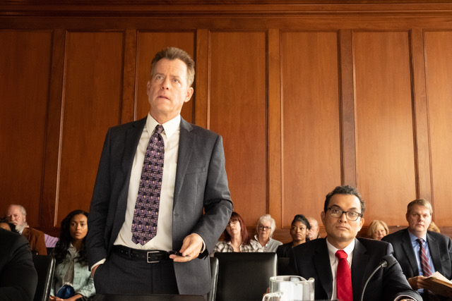 Greg Kinnear stars as Justin Brooks in Tom Shadyac's BRIAN BANKS, a Bleecker Street release.