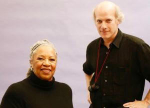 Toni Morrison and director Timothy Greenfield-Sanders