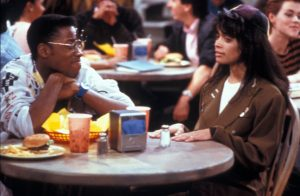 """Then, with 'A Different World,' they really ramped up the rhetoric. …I remember hearing shows coming on advertising saying this is not 'The Cosby Show,' which is an indictment in itself,"" said Bill Cosby. (Photo by NBC TV USA / Kadeem Hardison, Lisa Bonet, A Different World - 1987-1993)"