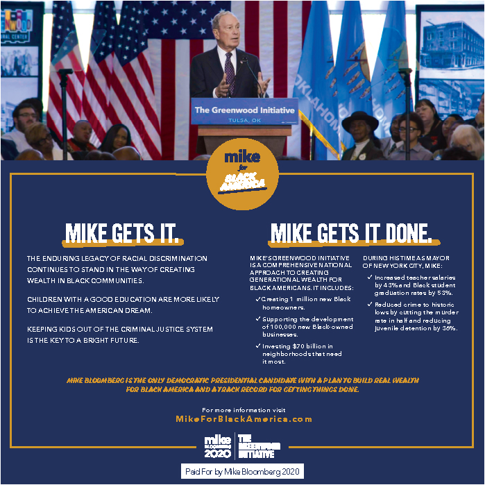 MIke Bloomberg Ad