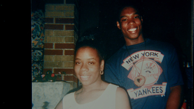 Yusuf Hawkins with mother Diane Hawkins photo by Hawkins family